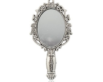 great Retro Vintage mirror pendant
