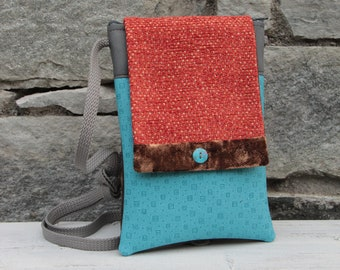 Le Chat-Marré Turquoise shoulder bag