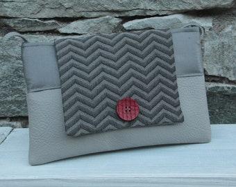 Le Chat-Marré grise shoulder bag