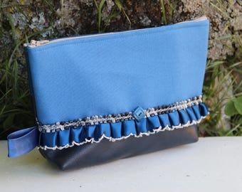 Flying blue textile kit