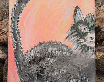 """Painting """"The Kipik Cat"""""""