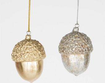Acorn, decoration, Christmas, ACORN HANGING DECORATION