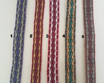 Galons cards,  fine wool, sold to 4 inch length. 1,06 inch wide.