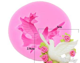 polymer bird silicone mold