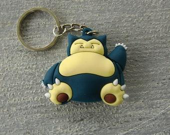 Snorlax keychain