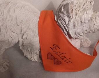 Orange bandana with custom L - XL - XXL