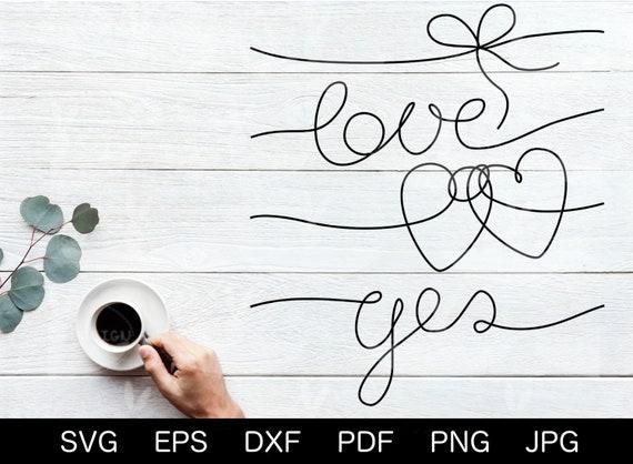 Liebe Plotterdatei Herz mit Tauben SVG Verlobung Hochzeit SVG DXF Eps png pdf jpg Valentinstag Tauben Herz Schnitt Datei