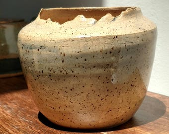 "Handmade ""Ancient"" Ragged Pot"
