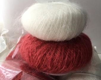 10 pelotes laine très douce fabriquée en France