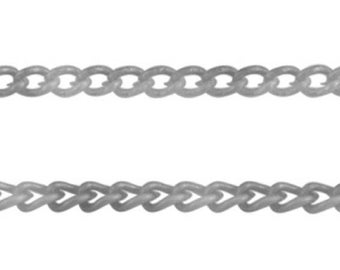 1 M of string chain links 3.7 MM X 2.5 MM A4