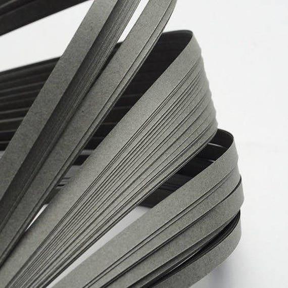 120 bandes de papier QUILLING 5mmx52cm GRIS Loisirs créatifs DIY déco