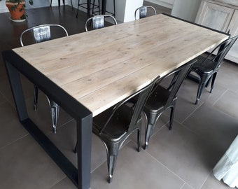 Table Industrielle Etsy