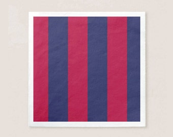 FC Barcelona Napkins | Cute Napkins for Birthdays | 50 Pack