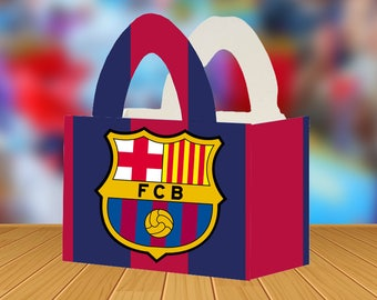 FC Barcelona Loot Box | Cute Box for Birthdays | 8 Pack