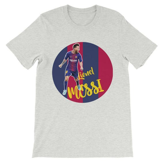 Messi T-shirt Cool FC Barcelona Messi Design T-shirt  8d0dcaae33