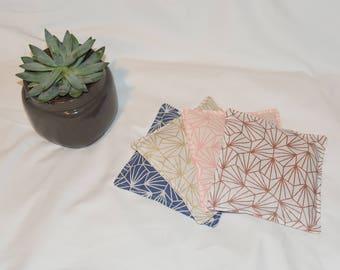 Heating pad, fabric Origami