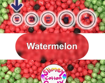 """Large Box/Bag 8"""" x 7"""" x 3"""" - Marshmallow Foam Beads For Slime - Watermelon Color"""