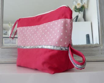 Large toiletry bag - baby Kit - COLLECTION * Little Princess *.