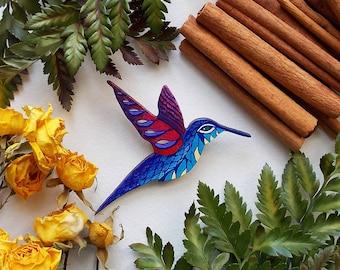 brooch Mr Hummingbird