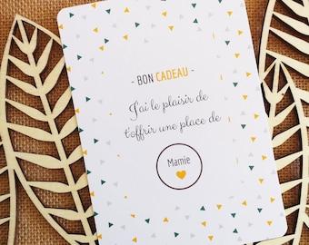 Granny - Scratch Pregnancy Announcement Card - Gift Voucher