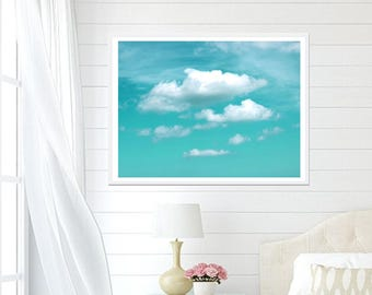 Cloud Photograph, Digital Download, Bedroom Decor, CLOUD PHOTO, Printable Art, Dreamy Clouds, Relaxing Decor, Clouds Print, Cloud Picture