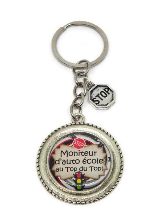 Porte Clés Moniteur Auto école Super Moniteur Etsy