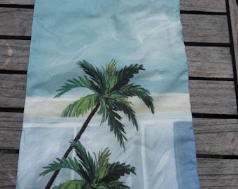 Palm trees underwear bag