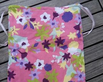 Pink underwear bag