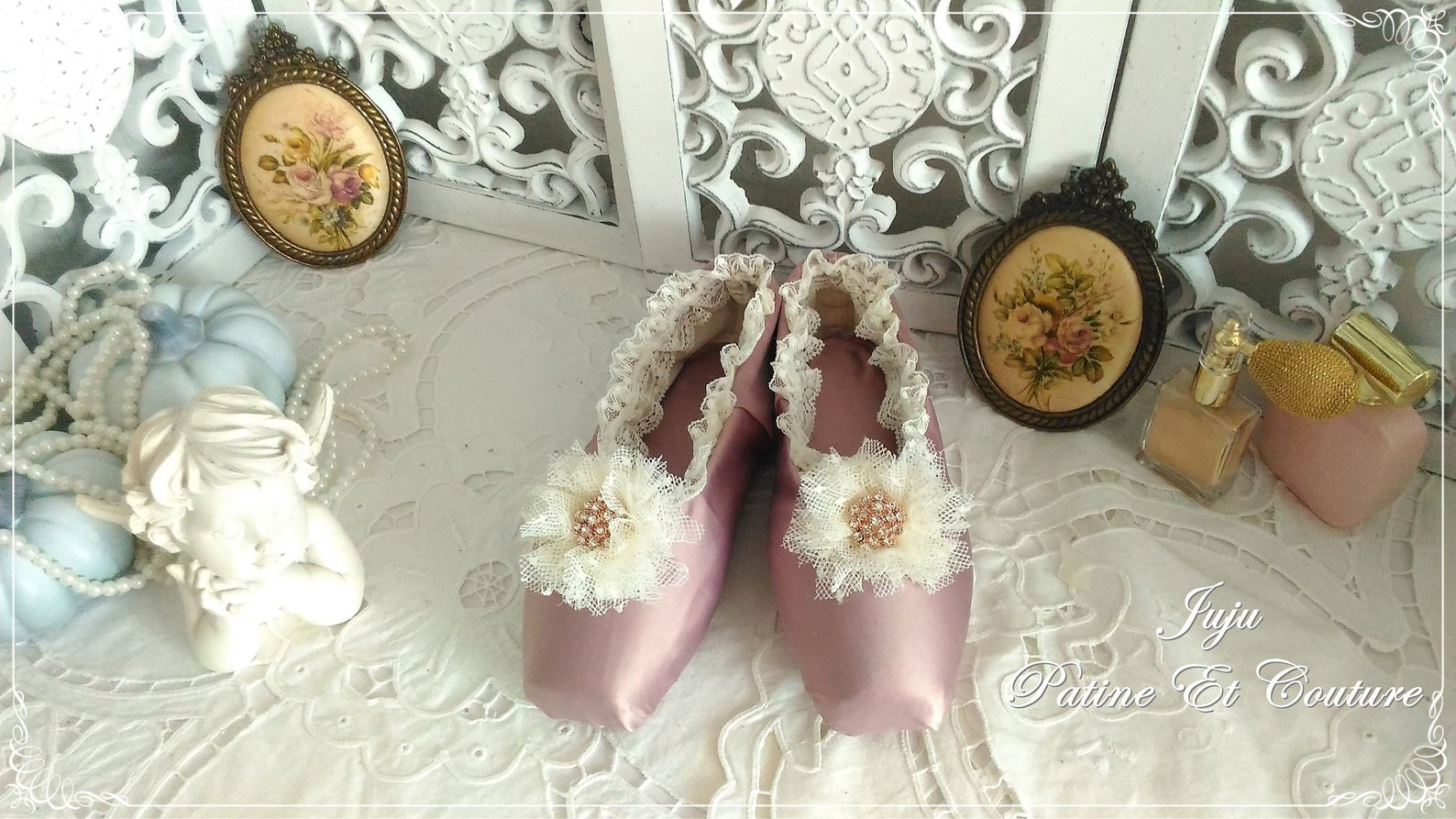 ballet shoes classic shabby chic