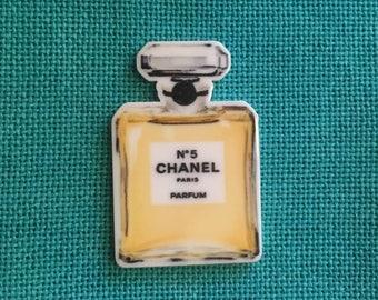 Perfume Bottle Flat Resin Needle Minder/Magnet
