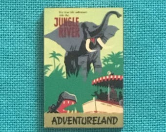 In the Jungle Wooden Needle Minder