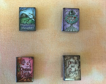 Story Book Wooden Needle Minders/Magnets