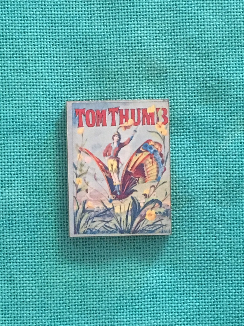 Tom ThumbStorybook Wooden Needle Minder