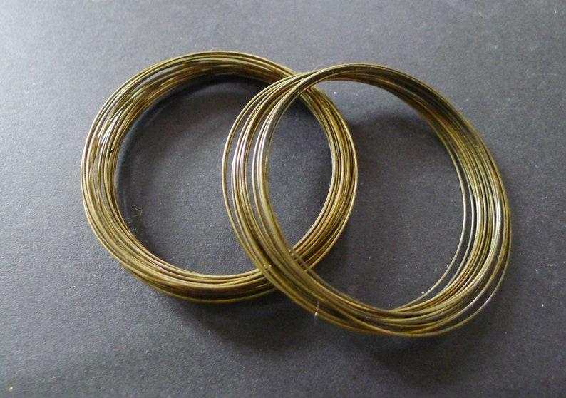 30-round bronze memory bracelet 55mm