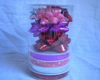 ribbons and bows for Red gift box