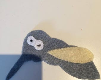 felt finger puppet animals mosquito
