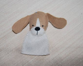 felt finger puppet animals various basset