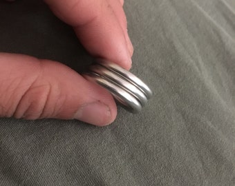 Hand made metal ring