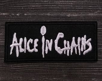 Patch Alice in Chains Heavy Metal Grunge Band.