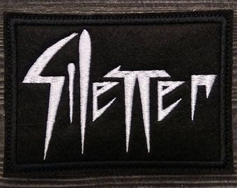 Patch Silencer Black Metal Band.