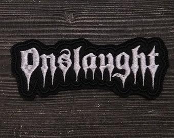 Patch Onslaught Thrash Metal band.