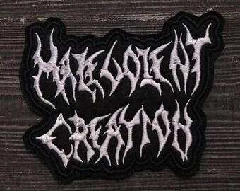 Patch Malevolent Creation Death Metal band.