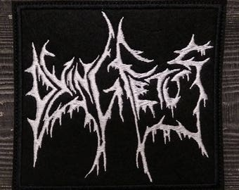 Patch Dying Fetus logo Death Metal band.