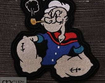 Patch Popeye Sailor Cartoon Patch Pin Up.