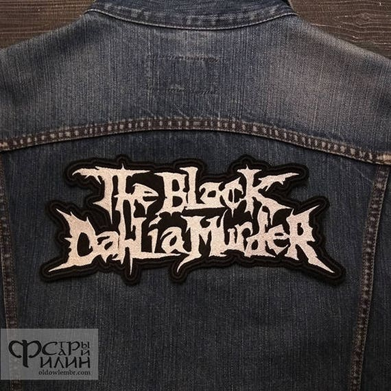 Music D Death Metal Progressive Metal Melodic Death Metal Technical Death Metal Music Logo Patch Embroidered Sew Iron On Patches Badge Bags Hat Jeans Shoes T-Shirt Applique
