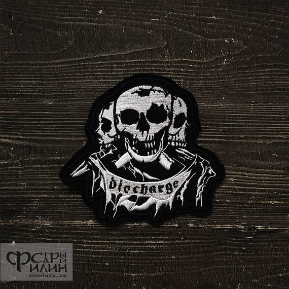 Patch Anthrax Pentagram Heavy Thrash Metal band.