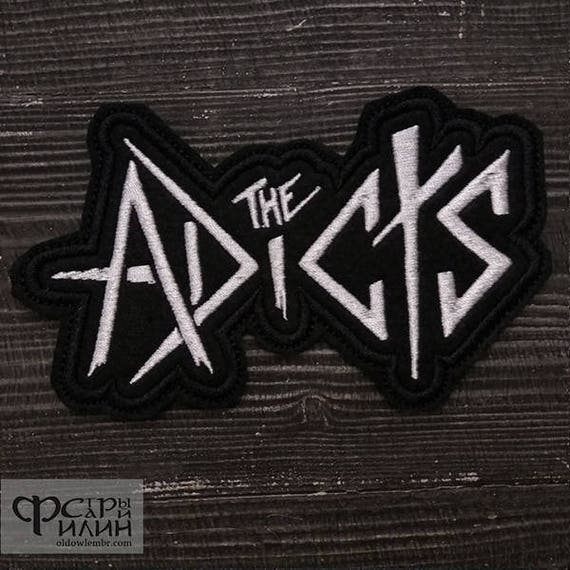 The Adicts Logo Embroidered Iron On Patch punk rock