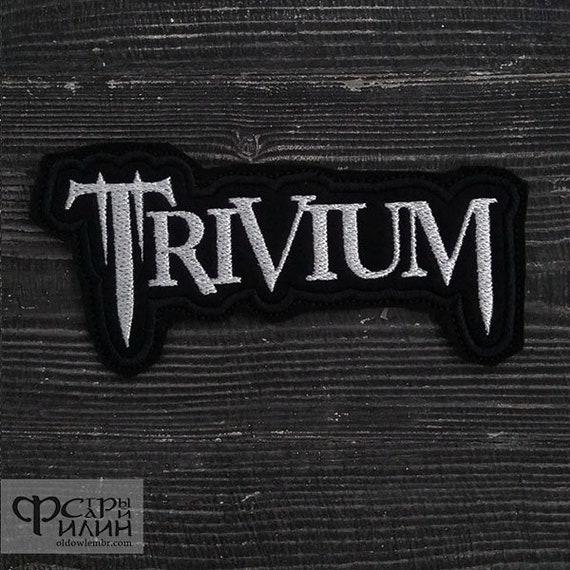 Patch Trivium Metalcore Thrash Heavy Metal Logo Band