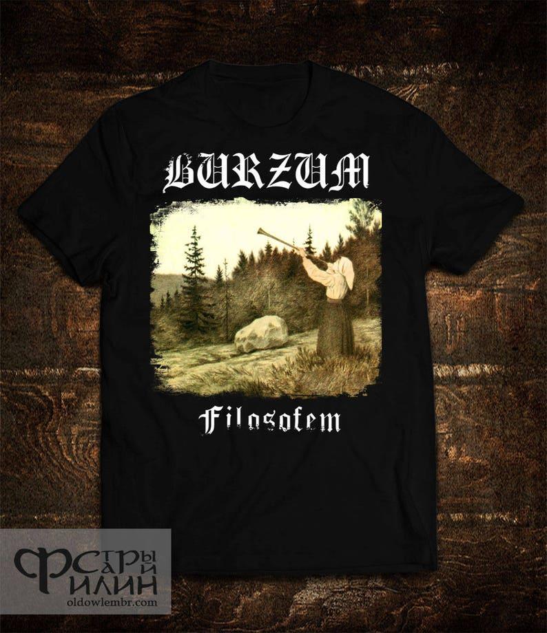 ab562c756 T-shirt Burzum Filosofem Varg Vikernes   Etsy