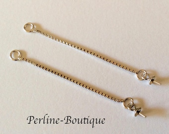 Spacer 33mm 925 sterling silver chains